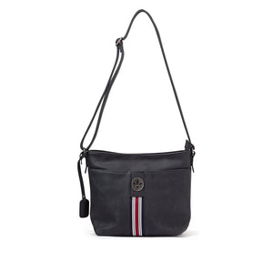 Rieker H1329-14 Ladies Black Cross Body Shoulder Handbag