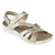 Lotus Sangallo Gold Reptile Print Summer Sandals