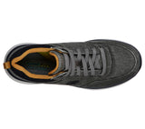 Skechers 210024 Delson 2.0 Kemper Mens Charcoal Lace Up Shoe