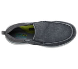 Skechers 210025 Delson 2.0 Larwin Mens Denim Blue Slip On Shoes