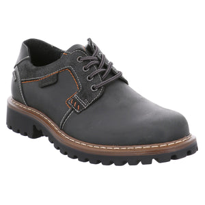 Josef Seibel Chance 08 Schwarz Mens Lace Up Shoe