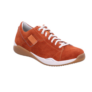 Josef Seibel Ricardo 07 Mens Orange Suede Lace Up Shoes - elevate your sole