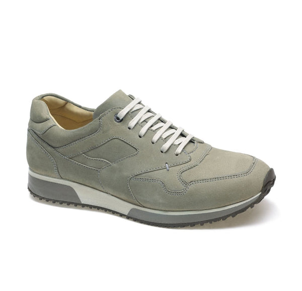 Anatomic Vai Nubuck Silver Lace Up Shoes