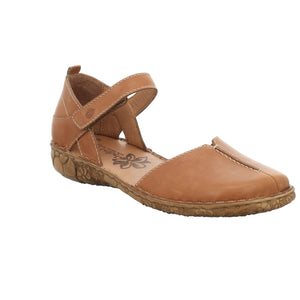 Josef Seibel Rosalie 42 Cognac Ladies Leather Sandal Shoes - elevate your sole