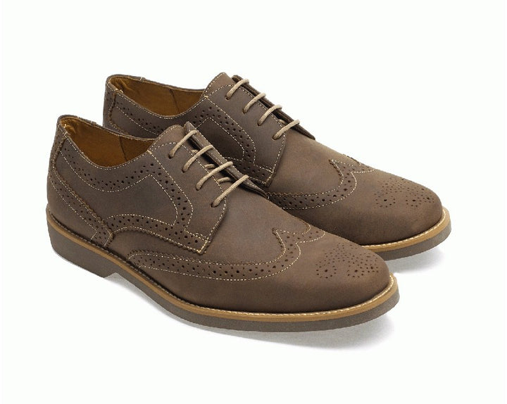Anatomic Tucano Mens Tobacco Tan Leather Brogues - elevate your sole