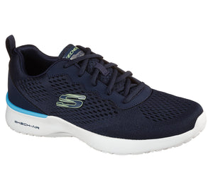 Skechers 232291 Skech Air Dynamight Mens Tuned Up Navy Lace Up Trainers
