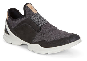 Ecco 841843 Biom Street Black Ladies Slip On Casual Shoe - elevate your sole