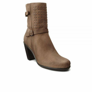 Ecco 263533 Touch 75B Women's Birch Leather Mid Calf Boots - elevate your sole