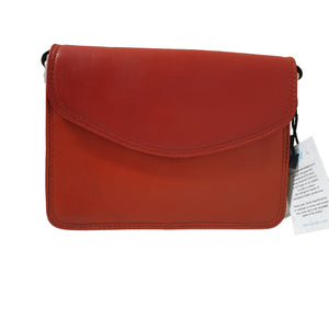 Soruka 047272 Red Combi Leather Shoulder Bag