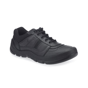 Start-Rite Rhino Sherman 8238-7 Boys Black Leather Lace up Shoe - elevate your sole