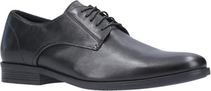 Hush Puppies Oscar Black Clean Toe Dress Shoes