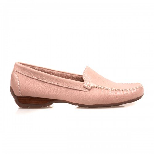 Van Dal Sanson Pink Leather Loafer Shoes