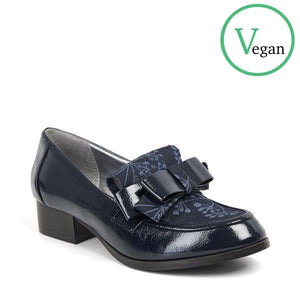 Ruby Shoo Gabriella Navy Loafers