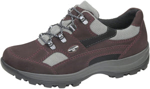 Waldlaufer 471240 Torrix Holly Burgundy Lace Up Water Resistant Hiking Shoes H Fit