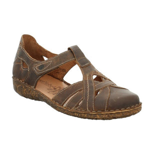 Josef Seibel Rosalie 29 Ladies Brandy Brown Leather Sandals