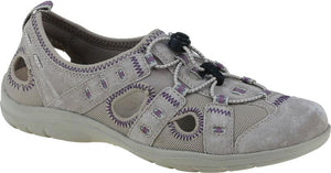 Earth Spirit 30216 Winona Khaki Leather And Mesh Ladies Casual Shoe