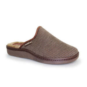 Good Year KMG020 Esk Mens Brown Mule Slipper