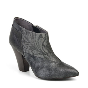 Ruby Shoo Erika Pewter Ankle Boots - elevate your sole