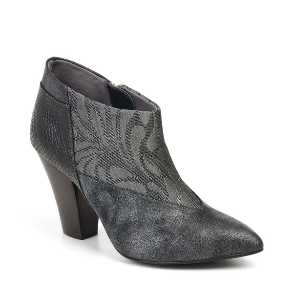 Ruby Shoo Erika Pewter Ankle Boots