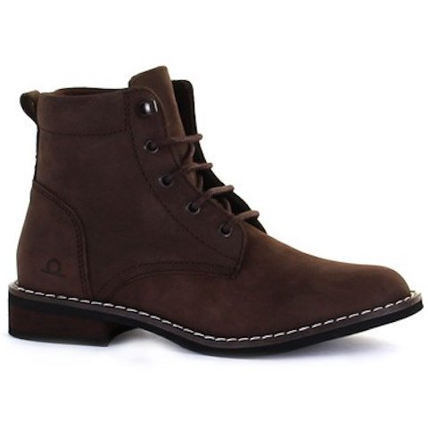 Chatham Annie Brown Nubuck Leather Ankle Boots - elevate your sole