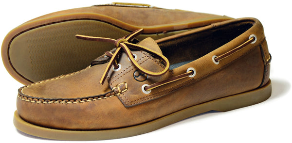 Orca Bay Creek Mens Sand Nubuck Leather Deck Shoes