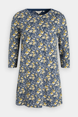 Seasalt Cape Cornwall Ladies Spring Border Harbour Floral Tunic
