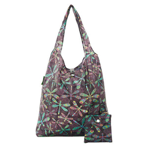 Eco Chic A31 Dragonfly Black Recycled Plastic Shopper