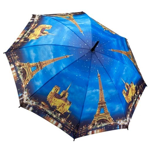 Galleria Umbrella Paris Lights Folding Brolly