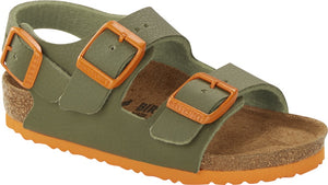 Birkenstock 1019473 Milano Kids BF Desert Soil Moss Green Buckle Sandals