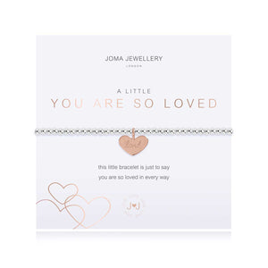 A little you are so loved stretch bracelet