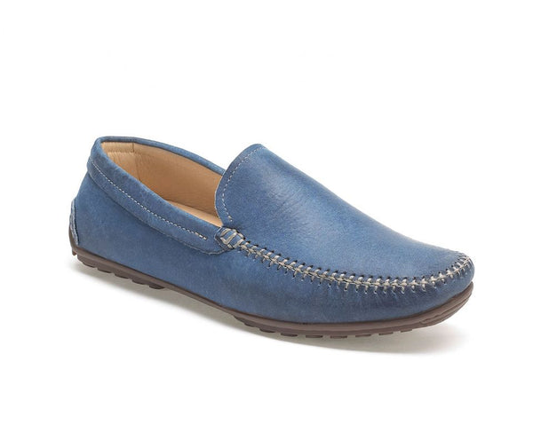 Anatomic Lucas Vintage Sky Blue Leather Loafers
