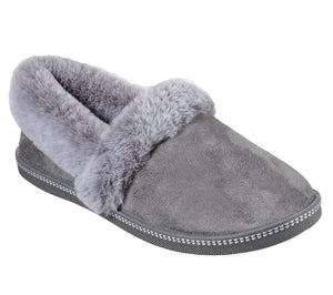 Skechers 32777 Cozy Campfire Team Toasty Ladies Charcoal Slippers