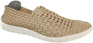 Adesso Jake A4387 Rattan Mens Elasticated Shoes - elevate your sole