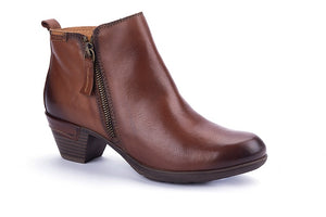 Pikolinos 902-8900 Ladies Cuero Leather Heeled Ankle Boots