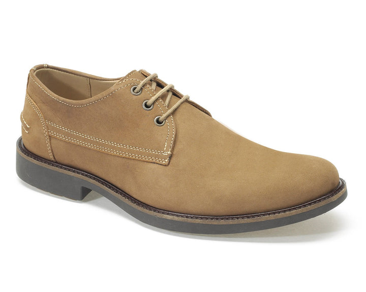 Anatomic Pinhal Castor Nubuck Derby Shoes