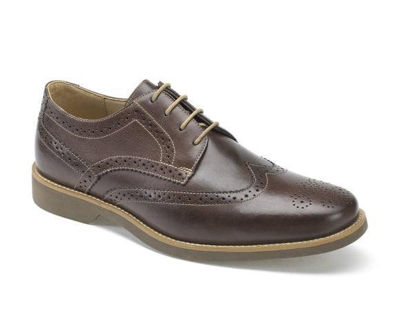 Anatomic Tucano Touch Cafe Brown Leather Brogues