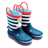 Chipmunk Moby Whale Navy Wellies