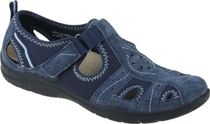 Earth Spirit 30201 Cleveland Navy Blue Summer Walking Shoe