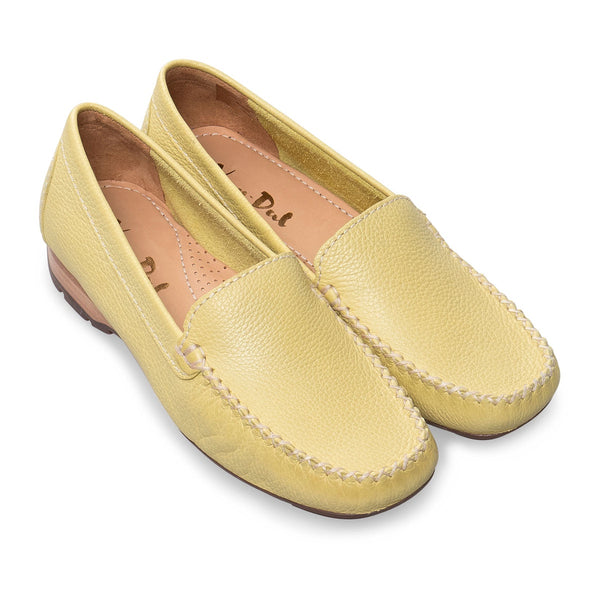 9bb784fa63 Van Dal Sanson Citron Leather Loafers