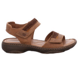Josef Seibel Debra 19 Castagne Brown Leather Walking Sandals - elevate your sole