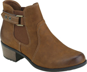 Earth Spirit El Reno Ladies Almond Brown Leather Ankle Boots
