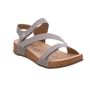 Josef Seibel Tonga 25 Cristal Silver Leather Sandals - elevate your sole
