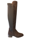 Alpe 30021132 Brown Suede Thigh High Boots - elevate your sole