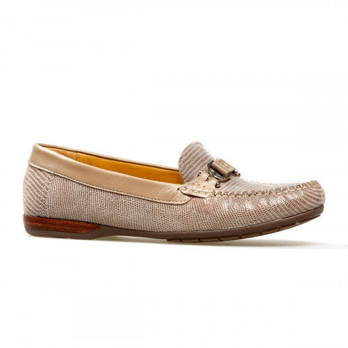 Van Dal Bliss Fawn Print Loafer Leather Shoes