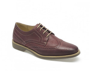 Anatomic Tucano Vintage Bordeaux Leather Brogue Shoes - elevate your sole