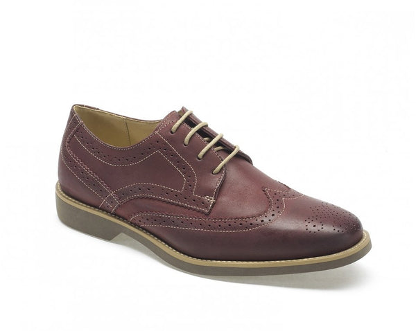 Anatomic Tucano Vintage Bordeaux Leather Brogue Shoes