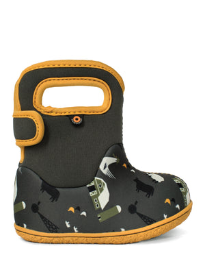 Bogs Baby Bogs Farm Loden/Green Multi Waterproof Boots