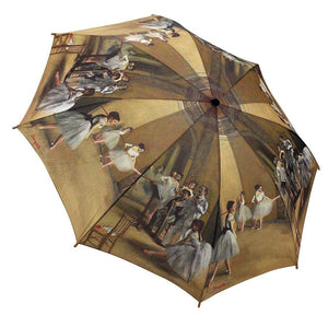 Galleria Umbrella Degas Ballet Lesson Brolly - elevate your sole