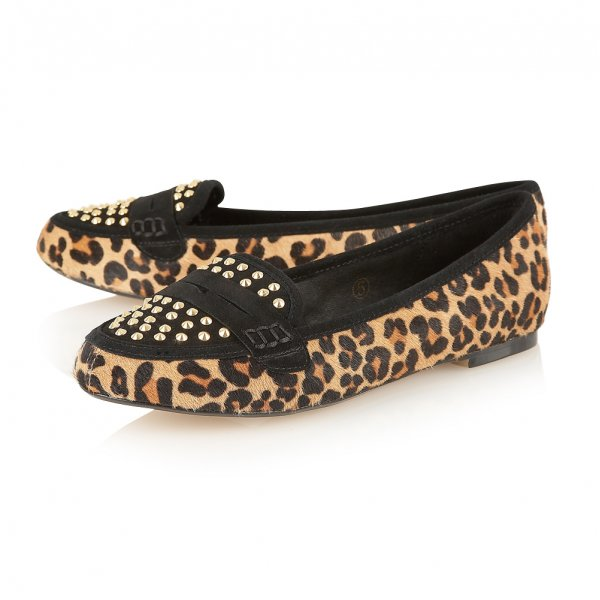 Ravel Mariah Leopard Loafers