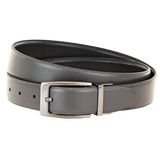 TBBC Hayhurst Reversible Leather Belt Grey/Black